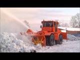 Фильм про трактор К-707Т (К-700 и К-701). Балтиец - Снегоуборщик .
