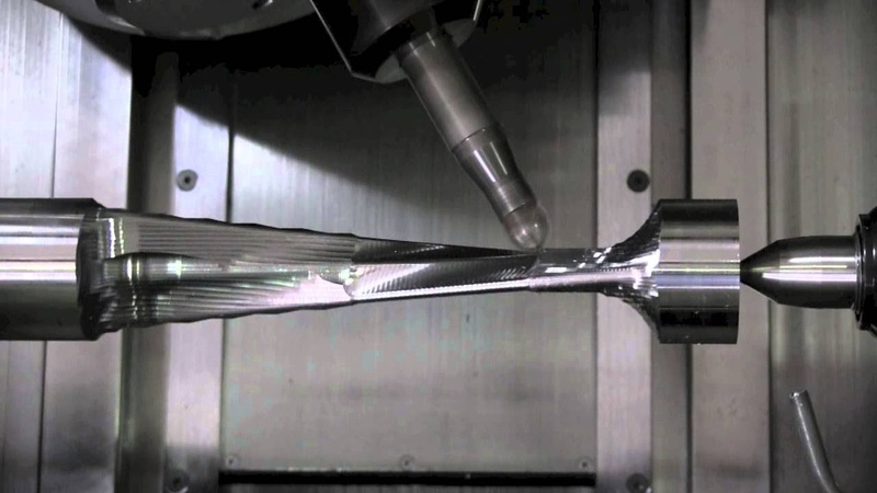 Fast And Non-Vibration Blade Machining Methods on Cnc 4 Axis Machines