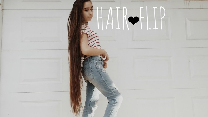 SUPER LONG HAIR FLIP! | Elizabeth