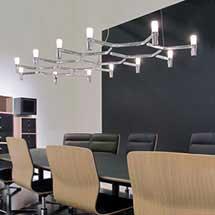 Меньше ограничений с освещением офиса, делает вас более креативным.