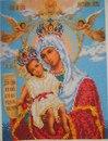 теперь у меня есть еще одна цель, вот только закончу Матрону)Икона Богородица милующая празднуется 11 июня в мой день...