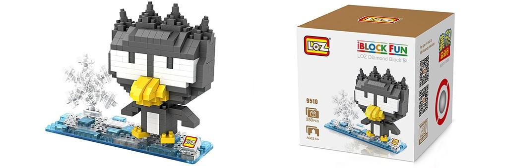 "Конструктор LOZ Diamond Block iBlock Fun ""Badtz-Maru"" 9510"