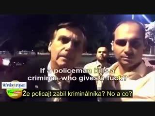 Jair Bolsonaro - Čerstvě zvolený 38. prezident Brazílie