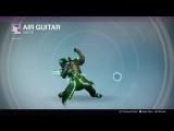 Destiny_20180127 GREEN WARLOCK . AIR GUITAR .