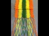 Солнечный шарф брюггским кружевом из остатков пряжи (Bruges lace scarf from the ashes of yarn