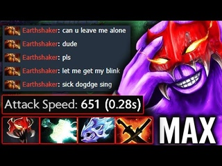 New Bash + MAX SPEED = CANCER! Epic Pro Stack Faceless Void by Sing vs MagE Dota 2
