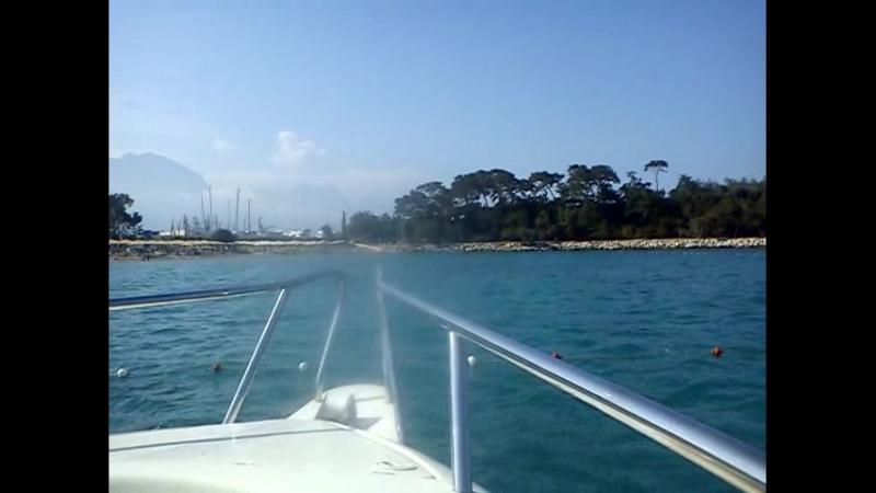 На морскую прогулку на катере....отправление