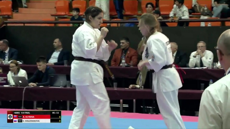 ЧЕ ИФК-2018. Валерия Колесникова