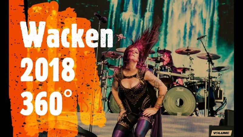 Nightwish Wacken 2018 4k 360°