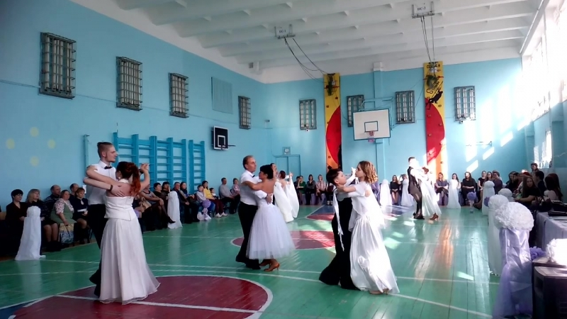 Весенний бал, школа № 9 г.Соликамск. 21.04.2018.