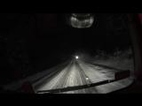 Евро Дальнобой. #133 Опасная зимняя дорога.