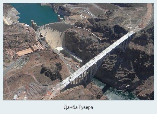 Плотина Гувера, Аризона и Невада — США