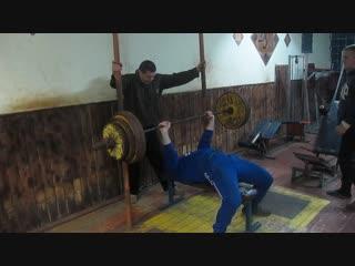 Алексей Субботин жим 173 кг
