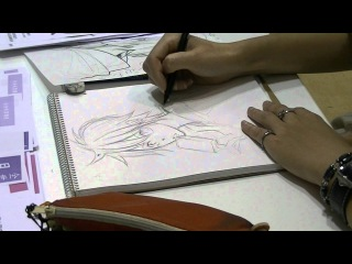 Drawing Manga Pencil 02 Kamizyou_Aoi_Club MIA 上条葵花