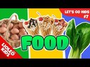 Tiếng Anh cho bé qua Sách Let's go 7: Đồ ăn - Food  Lioleo Kids 