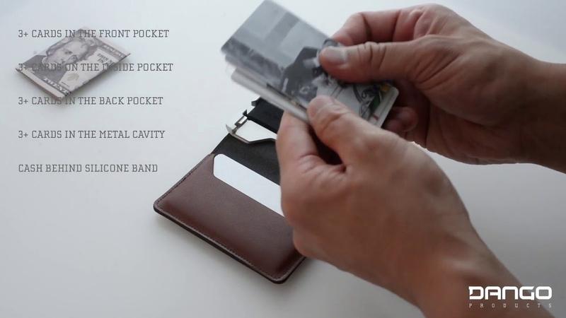 D01 Dapper Wallet with 3Pocket Bifold Genuine Leather