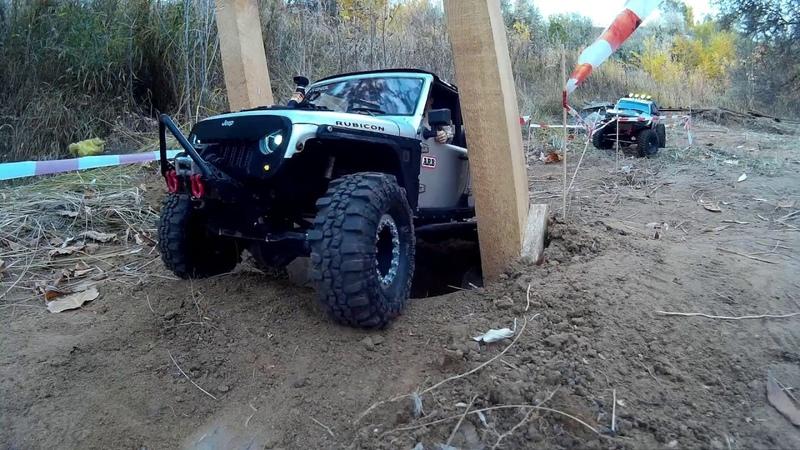 Axial scx10 Jeep Rubicon Remo Hobby RC scale driver 1 10 Togliatti