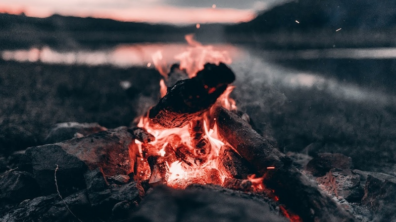 Relaxing Music Campfire - Relaxing Guitar Music, Soothing Music, Calm Music