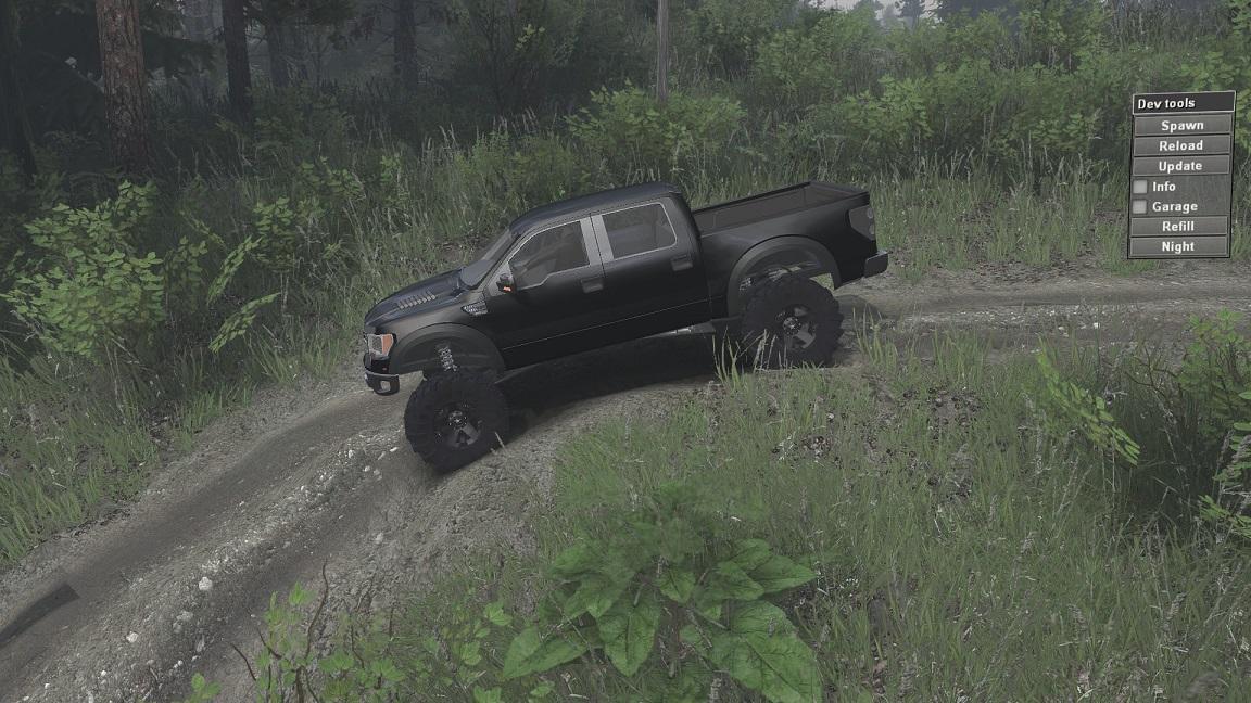 SID Ford Raptor SVT для 23.10.15 и 8.11.15 для Spintires - Скриншот 2
