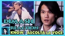 Dimash Reaction by 7 Aeons Know Ascolta La Voce
