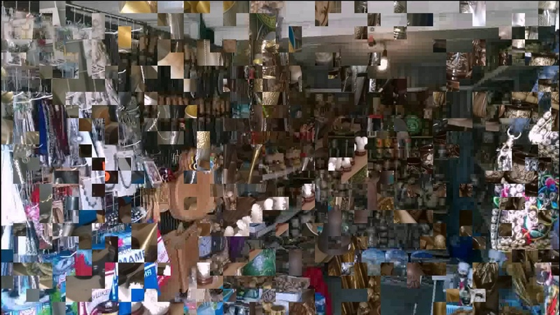 Хитрый рынок. Гагры 2017г.