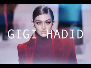 Top model  gigi hadid - fall winter 2019-20