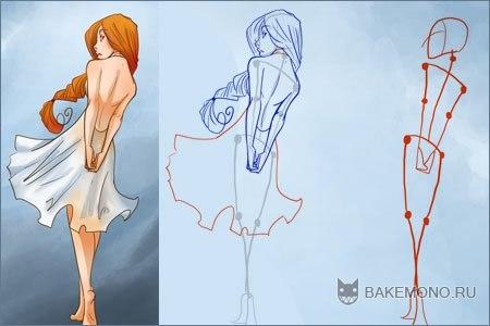 Как рисовать женское тело