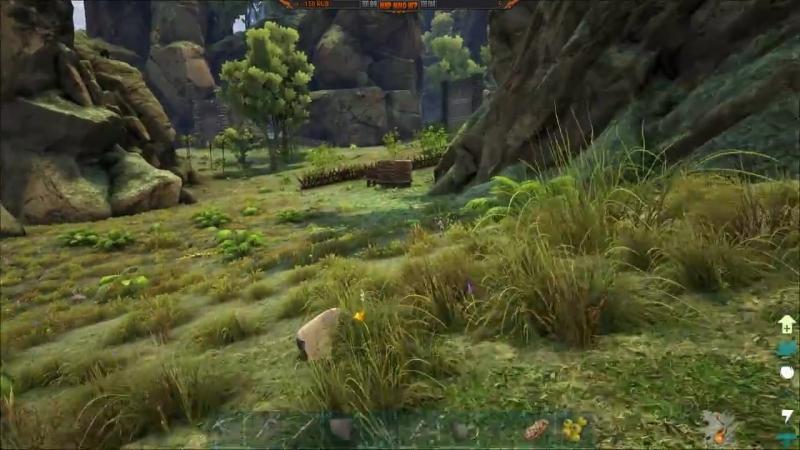 МИР ММО ИГР Первый домашний динозавр ARK Survival Evolved выживание