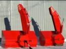 Снегоочиститель навесной Снег-1250 на минитрактор