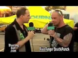 Five Finger Death Punch's Ivan Moody talks with Eric Blair