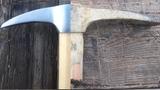 Restoration a very rusty pickaxe. Реставрация ржавой кирки.