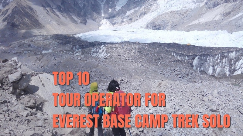 Top 10 tour operator for single girls to go Everest base camp trek solo