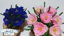 Крокусы из бисера— подробный мастер-класс. Бисероплетение✔️Beaded flowers, Crocuses
