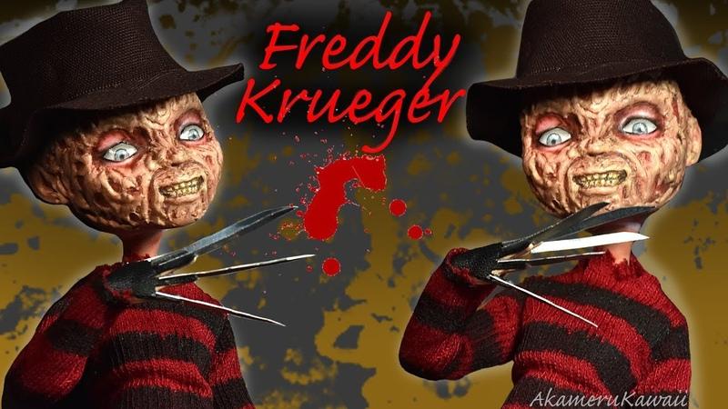 Freddy Krueger (Nightmare on Elm Street) inspired Doll - Repaint Tutorial