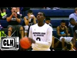 Freshman Naz Reid throws down at CP3 Rising Stars Camp and Dunk Dog Game