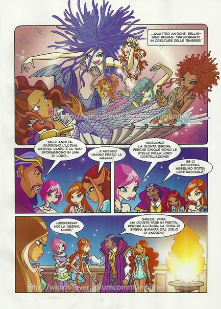 Winx club saison 5 pages de bd just winx - Les winx saison 3 ...