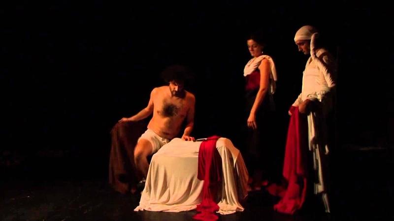 Per Grazia Ricevuta Tableaux Vivants dall'opera di Caravaggio