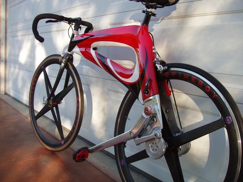 NuBike — велосипед без цепи