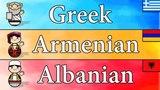 Greek, Armenian & Albanian Language- Countries & Languages