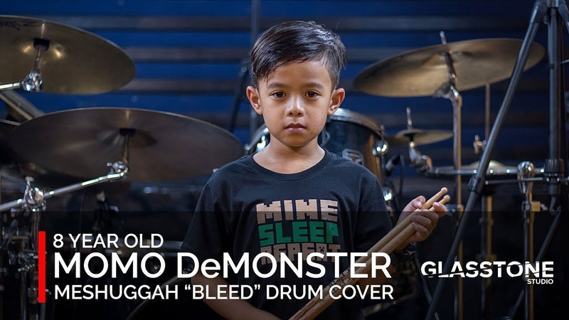 Meshuggah Drum Cover Bleed by 8-Year-old, Momo DeMonster from the Philippines