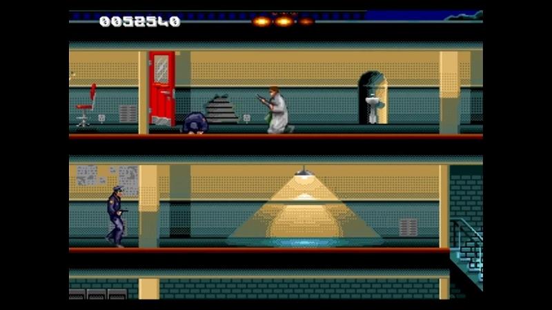 Моё видео прохождение игры Terminator-Sega