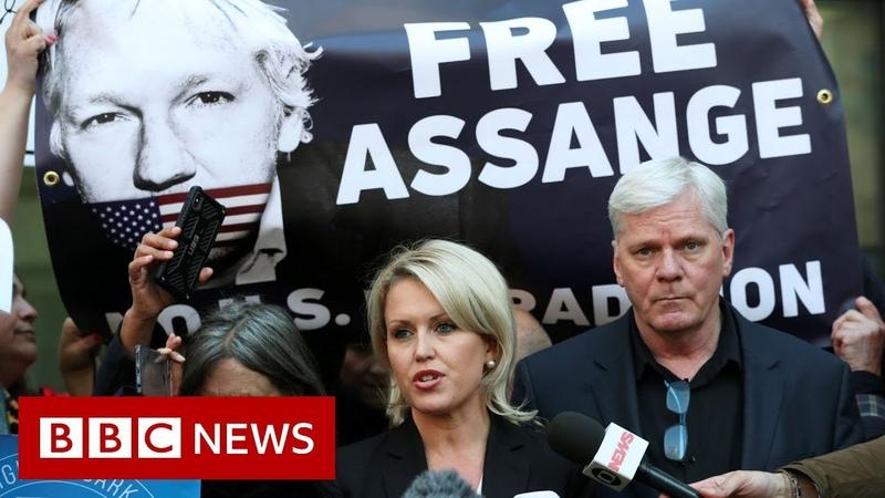 Assange's lawyer: Arrest set a dangerous precedent - BBC News