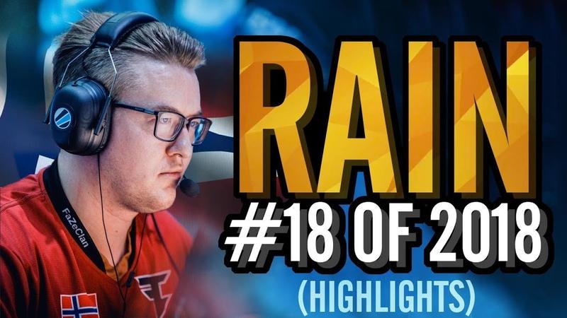 Rain - HLTV.org's 18 Of 2018 (CS:GO)