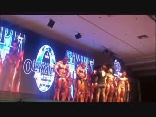 2019 Amateur Olympia Tunisia. Владимир Яковлев - 2 место.