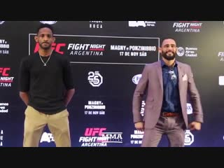 UFC Argentina Media Day Staredowns
