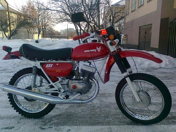 Минск mmvz 125