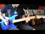 Melodic hard rock _ shred guitar solo improvisation