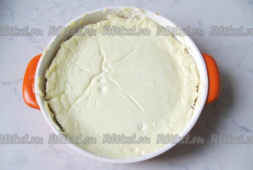 Рецепт запеканки из творога без сметаны в духовке