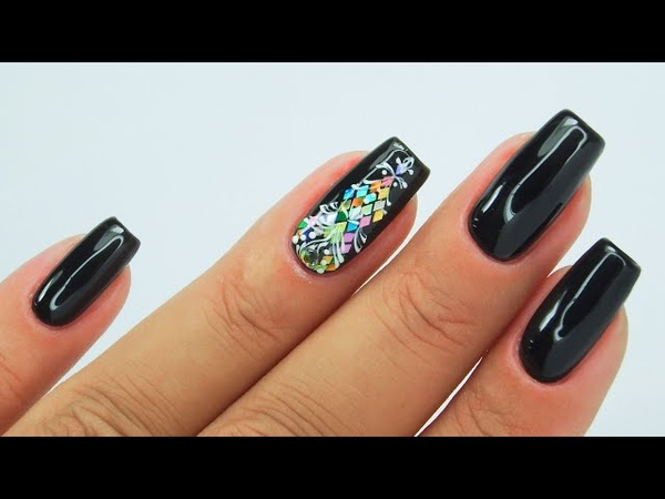 Bling ornament nails art Tutorial Colours by Molly ornamentsnails blingnails