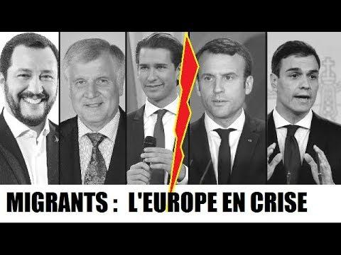 Migrants : Crise diplomatique en Europe - Création d'un axe anti-migrants / RTS TV suisse